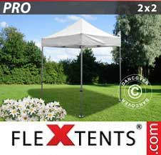 Carpa plegable FleXtents Pro 2x2m Blanco