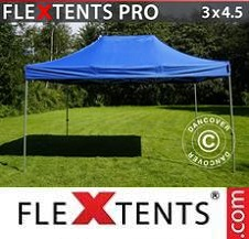 Carpa plegable FleXtents Pro 3x4,5m Azul