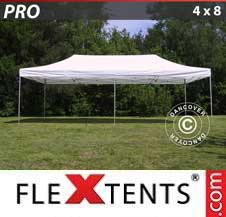 Carpa plegable FleXtents Pro 4x8m Blanco