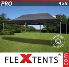Carpa plegable FleXtents Pro 4x8m Negro