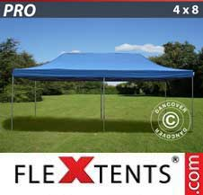 Carpa plegable FleXtents Pro 4x8m Azul