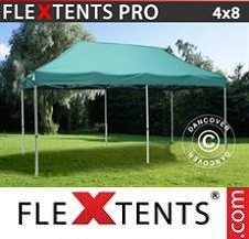 Carpa plegable FleXtents Pro 4x8m Verde