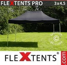 Carpa plegable FleXtents Pro 3x4,5m Negro