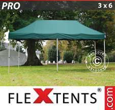 Carpa plegable FleXtents Pro 3x6m Verde
