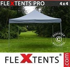 Carpa plegable FleXtents Pro 4x4m Gris