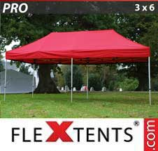 Carpa plegable FleXtents Pro 3x6m Rojo