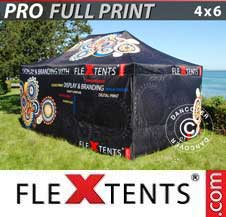 Carpa plegable FleXtents Pro 4x6m,