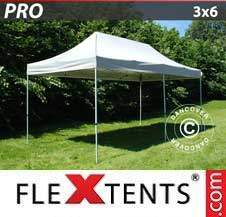 Carpa plegable FleXtents Pro 3x6m Plateado