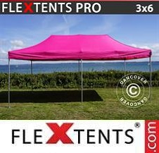 Carpa plegable FleXtents Pro 3x6m Rosa