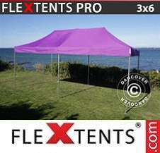 Carpa plegable FleXtents Pro 3x6m Morado