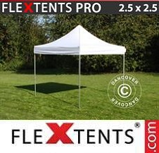 Carpa plegable FleXtents Pro 2,5x2,5m Blanco