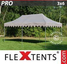 Carpa plegable FleXtents Pro 3x6m Latte