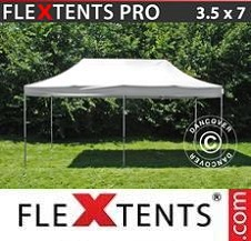 Carpa plegable FleXtents Pro 3,5x7m Blanco