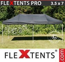 Carpa plegable FleXtents Pro 3,5x7m Negro