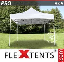 Carpa plegable FleXtents Pro 4x4m Blanco
