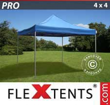 Carpa plegable FleXtents Pro 4x4m Azul