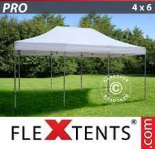 Carpa plegable FleXtents Pro 4x6m Blanco