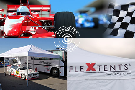 Carpas plegables Flextents - Carpas para Racing